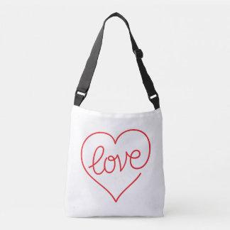 LOVE (03) Custom All-Over-Print Cross Body Bag