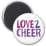 Love 2 Cheer Refrigerator Magnet