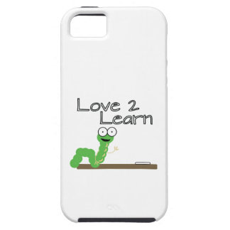 Love 2 Learn iPhone 5 Case