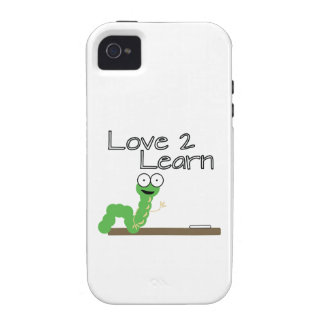 Love 2 Learn Case-Mate iPhone 4 Cases