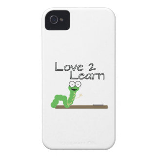 Love 2 Learn iPhone 4 Cover