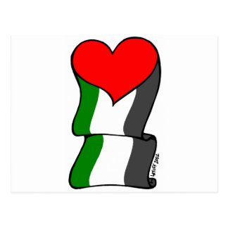Love 4 Palestine! Postcard