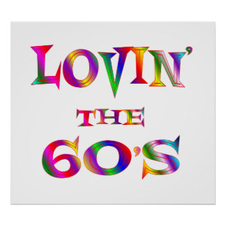 Love 60s poster