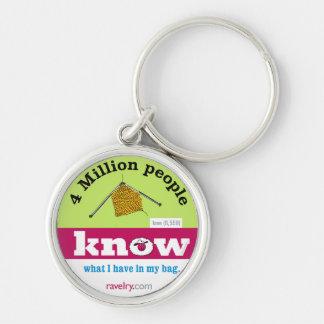 Love 6,559 Ravelry KNIT premium keychain
