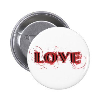 Love 6 Cm Round Badge