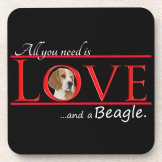Love a Beagle Coasters