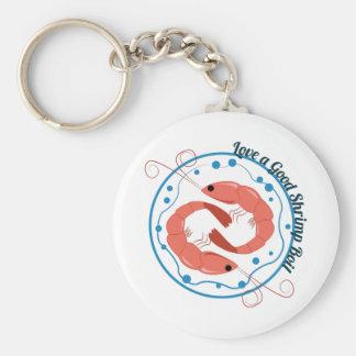 Love A Good Shrimp Boil Keychain