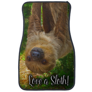 Love A Sloth Car Mats! Car Mat