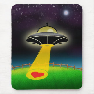 Love Abduction Mouse Pad