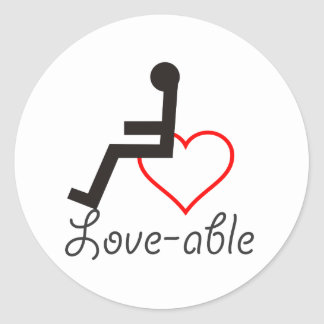 Love-Able Sticker