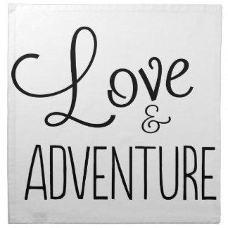 Love & Adventure Napkins