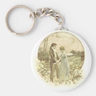 Love Affair Basic Round Button Key Ring