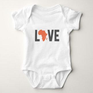 love africa baby bodysuit