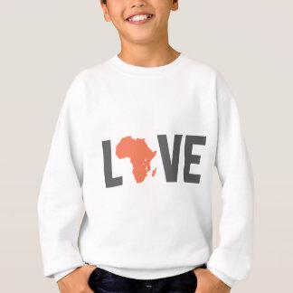 love africa sweatshirt