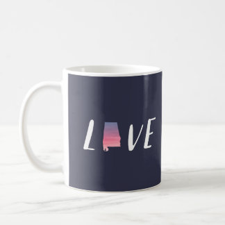 Love Alabama - Sunset Watercolor Mug