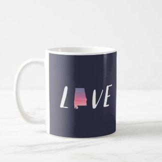 Love Alabama - Sunset Watercolor Mug