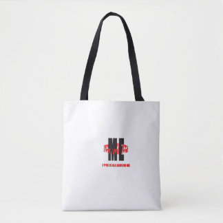 """Love All Around Me"" Tote Bag"
