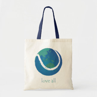 LOVE ALL tennis world design Tote Bag