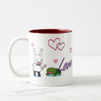 Love Always Two-Tone Coffee Mug