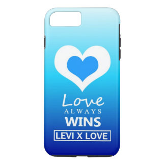 """Love Always Wins"" - LEVI X LOVE iPhone 8 Plus/7 Plus Case"