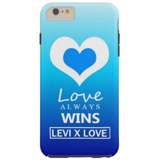 """Love Always Wins"" - LEVI X LOVE Tough iPhone 6 Plus Case"