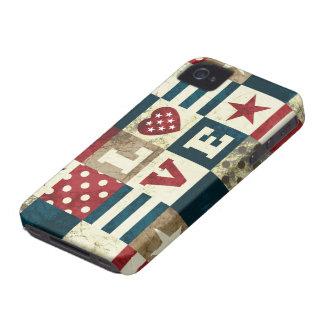 Love America Patriotic iPhone 4 Case
