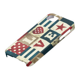 Love America Patriotic iPhone 5 Cover