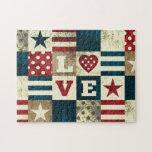 Love America Patriotic Puzzle