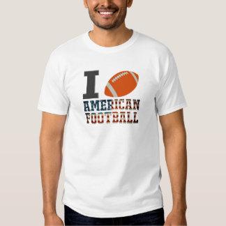 love american football tshirt
