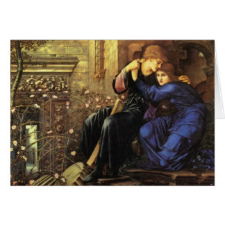Love Among the Ruins Fine Art Greeting Card