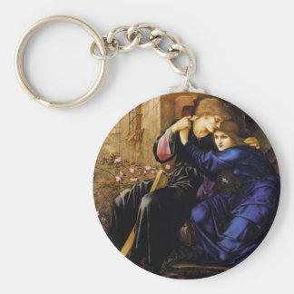 Love among the ruins Pre-Raphaelite Art Key Chains