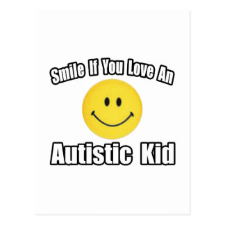 Love an Autistic Kid Post Cards
