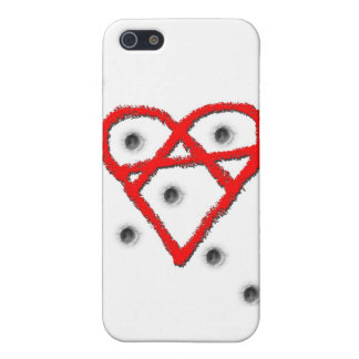 Love Anarchy Symbol Case For iPhone 5/5S