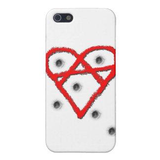 Love Anarchy Symbol iPhone 5 Case