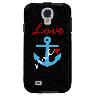 Love Anchors Me Samsung Galaxy S4 Case
