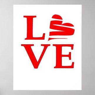 Love And A Broken Heart Print