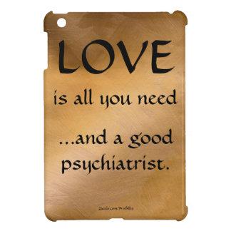 Love And A Good Psychiatrist iPad Mini Cases