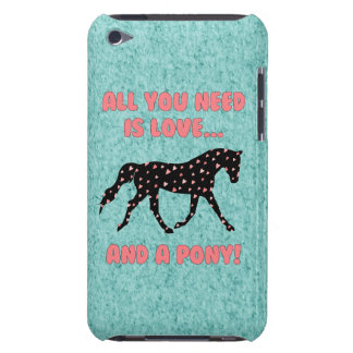 Love and a Pony Barely There iPod Case