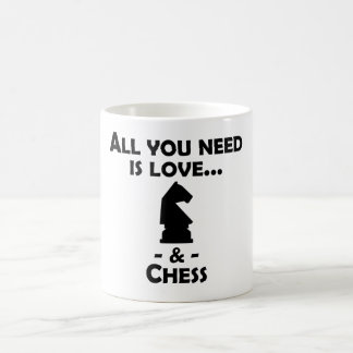 Love And Chess Morphing Mug