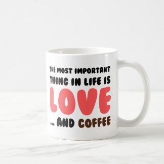 Love and Coffee Coffee Mug