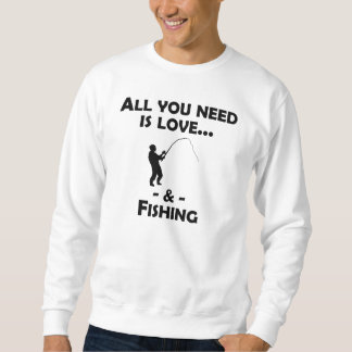 Love And Fishing Sweatshirt