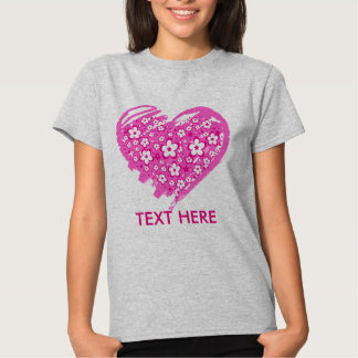 Love and flowers t-shirts