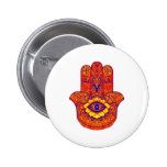 LOVE AND HARMONY PINBACK BUTTON