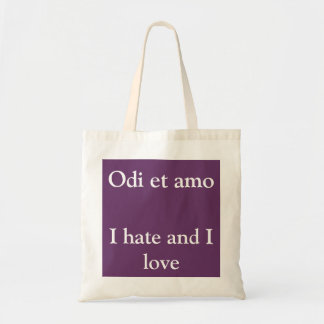Love and Hate bag