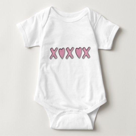 Love and Kisses Baby Bodysuit