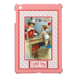 Love and kisses, Cupid my the mirror Case For The iPad Mini