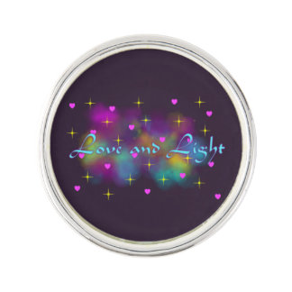 Love and Light Lapel Pin