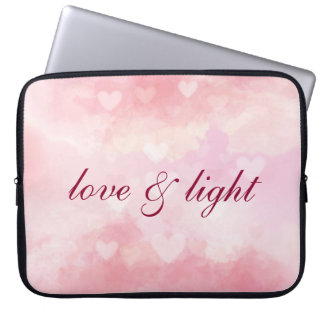 Love and Light Laptop Sleeve