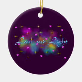 Love and light ornament