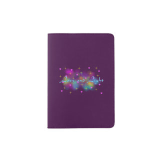 Love and Light Passport Holder